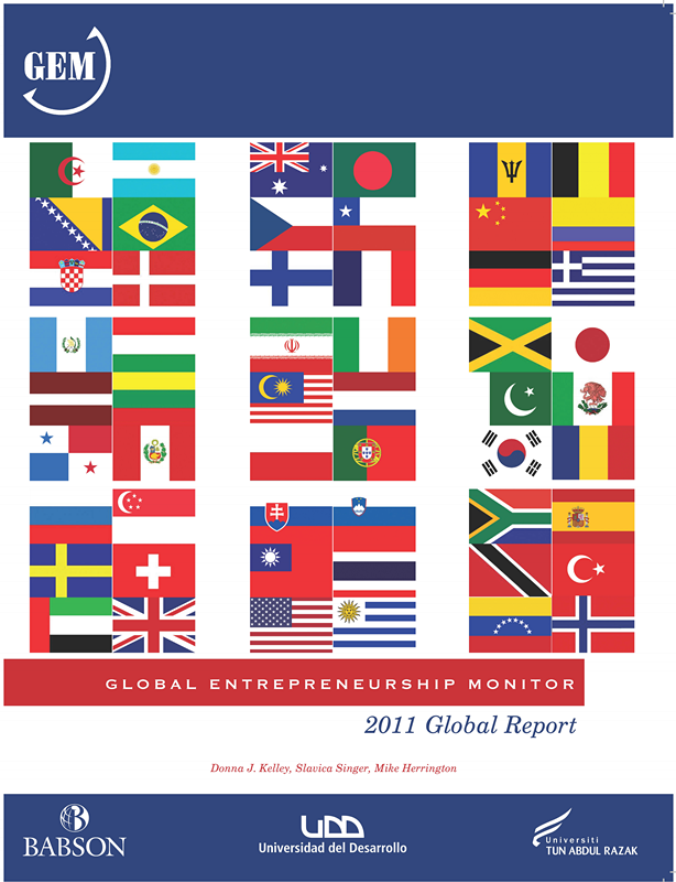 2012 年 1 月 gem the global entrepreneurship monitor 全球 创业
